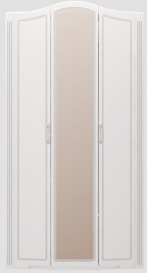 a9a951a5e7dbc Шкаф для одежды с зеркалом Ижмебель 3-х дверный Виктория модуль 9 ...