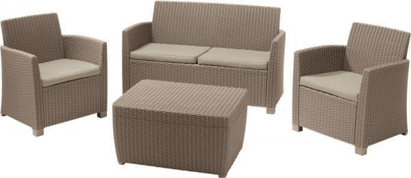 Комплект мебели Allibert Corona Set With Cushion Box