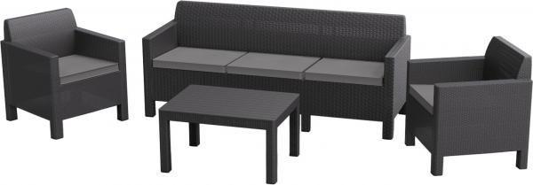 Комплект мебели Allibert Orlando Set With 3 Seat Sofa