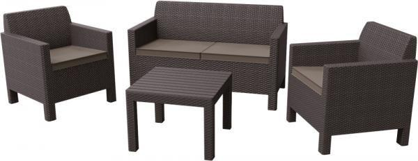 Комплект мебели Allibert Orlando Set With Small Table