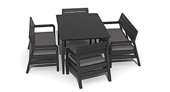 Комплект мебели Allibert Delano Set With Lima Table 160