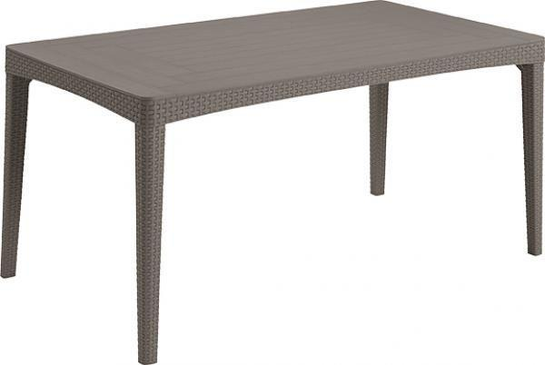 Стол Allibert Girona Table Flat Waves