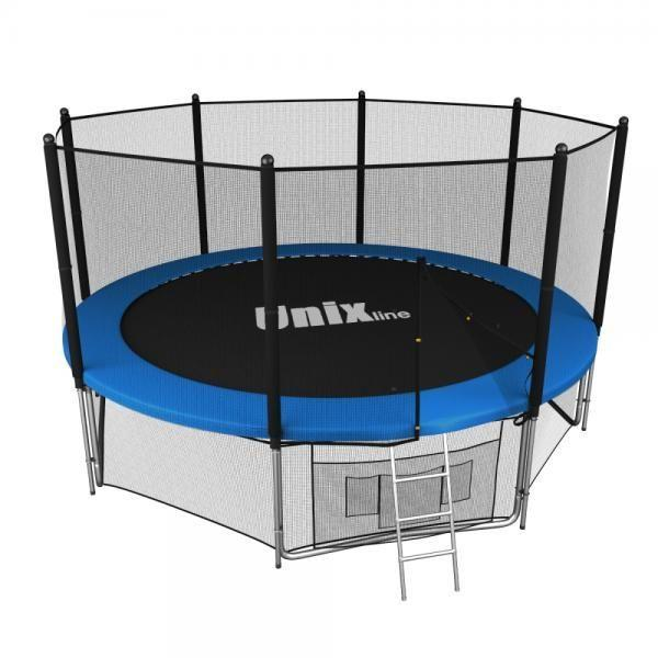 Батут UNIX line 12 ft outside blue TRU12OUTBL