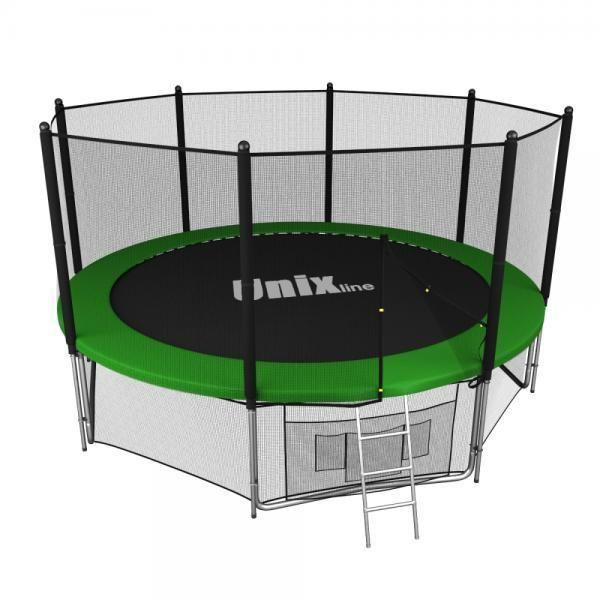 Батут UNIX line 12 ft outside green TRU12OUTGR
