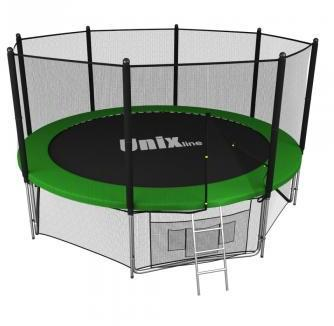 Батут UNIX line 12 ft outside green TRU12OUTGR (Р)